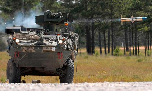Xe chiến đấu Stryker của Mỹ. Ảnh: VnExpress