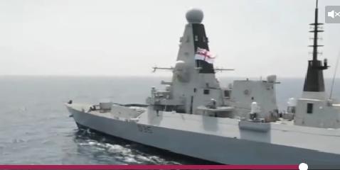Tàu khu trục Type 45 được đưa vào trang bị chiếc đầu tiên mang tên Daring vào năm 2009. Ảnh: VnExpress