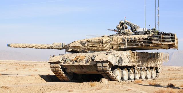 Siêu tăng  Leopard 2A7 của Đức. Ảnh: Trí Thức Trẻ