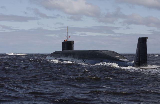 Tàu ngầm Vladimir Monomakh là tàu ngầm lớp Borei thứ ba của Nga. Ảnh: Infonet