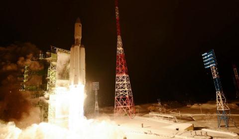 Tên lửa đẩy Angara là một trong những dự án ưu tiên hàng đầu của công nghiệp vũ trụ Nga. Ảnh: Đất Việt