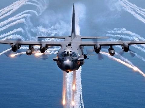 Cường kích AC-130  của Mỹ. Ảnh: an ninh Thủ Đô
