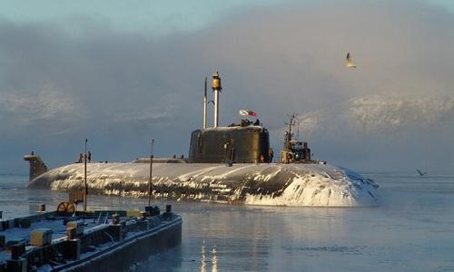 Tàu ngầm Belgorod là vũ khí quân sự thuộc lớp tàu ngầm hạt nhân Đề án 949A Antey. Ảnh: VnExpress