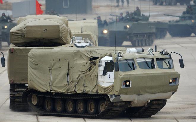 Hệ thống vũ khí tối tân của Nga trong buổi tập luyện. Ảnh: Trí Thức Trẻ