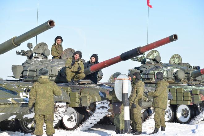 Dàn pháo tự hành Nga. Ảnh: Trí Thức Trẻ
