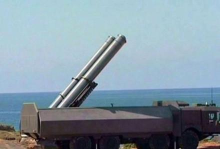 Tên lửa hành trình P-800 Yakhont của Nga. Ảnh: Lao động