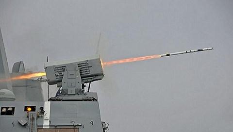 Tên lửa RAM Block 2  được Mỹ khai hỏa. Ảnh: an ninh Thủ đô