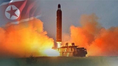 Tên lửa KN-15 của Triều Tiên vừa thử nghiệm nhưng thất bại ngay dai đó. Ảnh minh họa