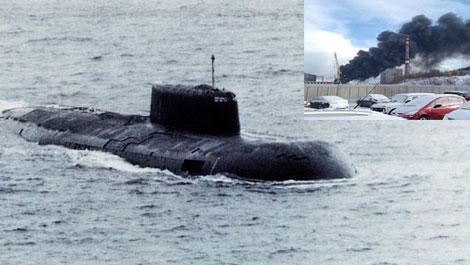 Tàu ngầm Krasnodar  thuộc lớp tàu ngầm hạt nhân tấn công Project 949 Antey. Ảnh: Kiến thức