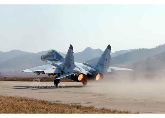 Máy bay MiG-29 trong một lần tập trận. Ảnh: Kiến Thức