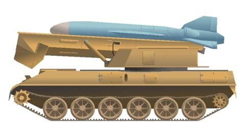 Tên lửa KN-01 của Triều Tiên. Ảnh: an ninh Thủ đô