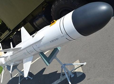 Tên lửa Kh-35UE cũng có kích thước nhỏ gọn nhưng uy lực kinh hoàng. Ảnh: An ninh Thủ đô