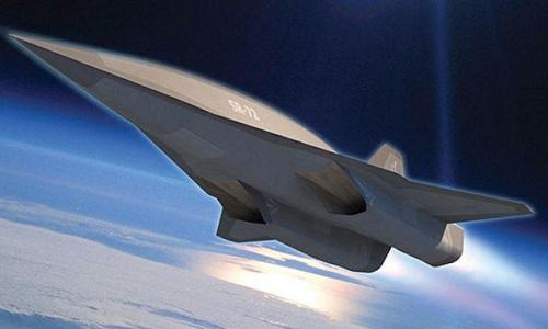 Máy bay siêu thanh SR-72  đạt vận tốc gấp 6 lần vận tốc âm thanh. Ảnh minh họa