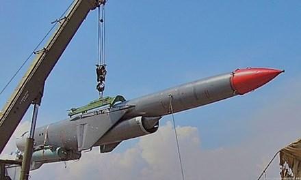 Tên lửa diệt hạm P-1000 Vulka. Ảnh: Kiến Thức