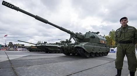 Pháo tự hành 2S35 Koalytsiya-SV. Ảnh: Zing News