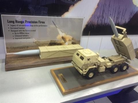 Mô hình hệ thống tên lửa DeepStrike. Ảnh: Đất Việt