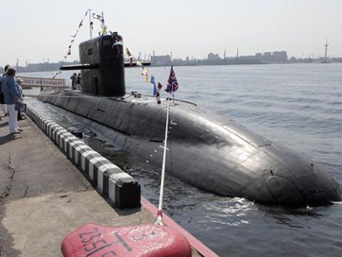 Tàu ngầm Nga đang được trang bị công nghệ hiện đại. Ảnh minh họa