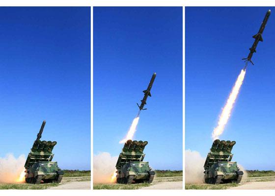 Tên lửa Triều Tiên khai hỏa. Ảnh: VietNamNet