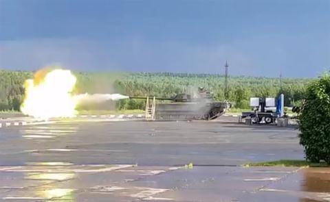 Xe tăng Armata thử nghiệm. Ảnh: Đất Việt