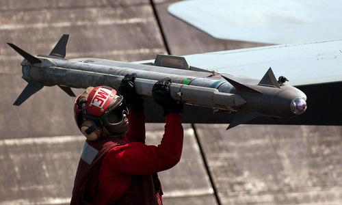 Tên lửa AIM-9X là thế hệ mới nhất của dòng tên lửa AIM-9 Sidewinder. Ảnh: VnExpress