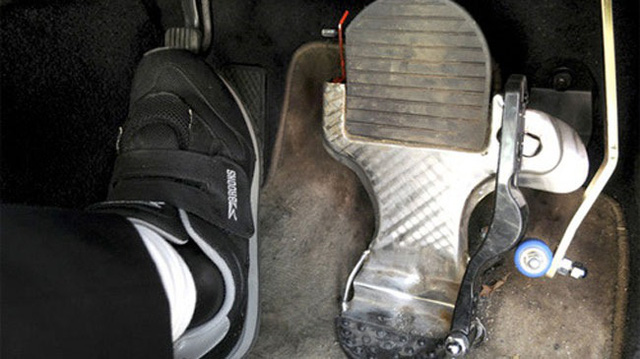 Để không xảy ra tình trạng đạp nhầm chân ga thì tư thế ngồi lái cần chuẩn. ẢNh minh họa