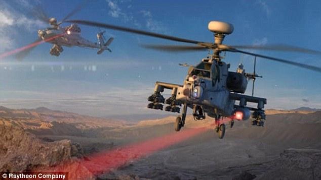 Vũ khí laser này có độ chính xác cực cao. Ảnh: Dân Trí