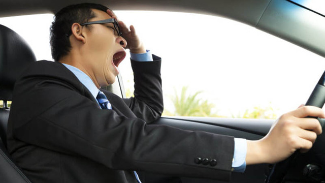 Hệ thống cảnh báo mới sẽ giúp lái xe chống buồn ngủ khi đi đường dài. Ảnh minh họa