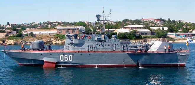 Tên lửa chống ngầm RPK-9  được trang bị trên tàu ngầm của Nga. Ảnh: Zing News