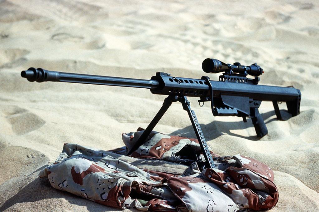 Súng trường M82 do công ty Barrett Firearms Manufacturing của Mỹ phát triển. Ảnh: Zing News
