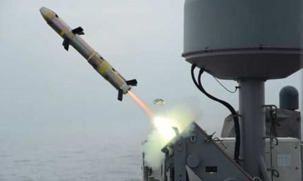 Tên lửa AGM-176 của Mỹ. Ảnh: Lao động