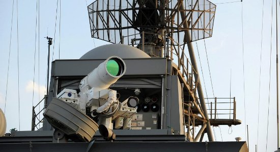 Vũ khí laser Mỹ vừa thử nghiệm có tốc độ gấp 50.000 lần tên lửa. Ảnh: TTXVN