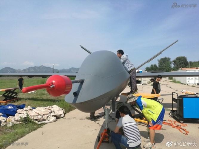 Máy bay không người lái Cồng Vồng 5 của Trung Quốc. Ảnh: Kiến Thức