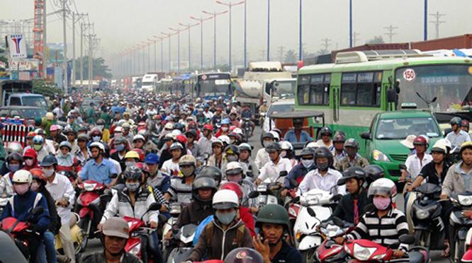 Ô nhiễm tiếng ồn tại Việt Nam đang ở mức báo động. Ảnh minh họa