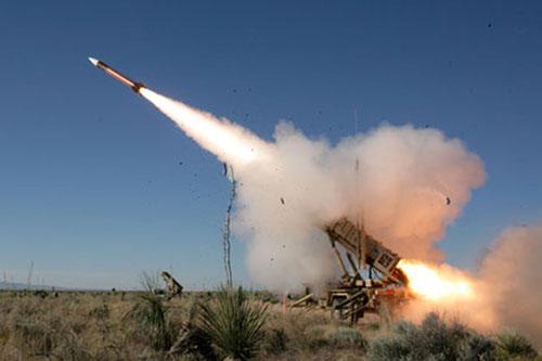 Hệ thống phòng thủ tên lửa Patriot. Ảnh: TTXVN