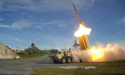 Hệ thống phòng thủ tên lửa tầm cao giai đoạn cuối (THAAD). Ảnh: VnExpress