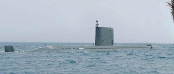 Tàu ngầm lớp Sinpo của Triều Tiên. Ảnh: Trí thức trẻ
