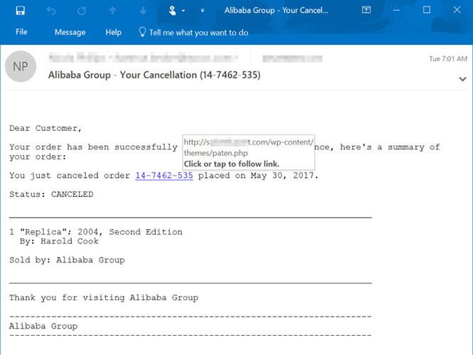 Người dùng nên thận trọng khi mở email. Ảnh: Thanh niên
