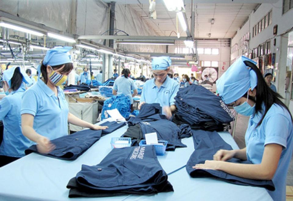 Ngành dệt may là một trong những ngành nghề bị ảnh hưởng nhiều nhất và có nguy cơ mất việc làm trước công cuộc cách mạng 4.0. Ảnh minh họa