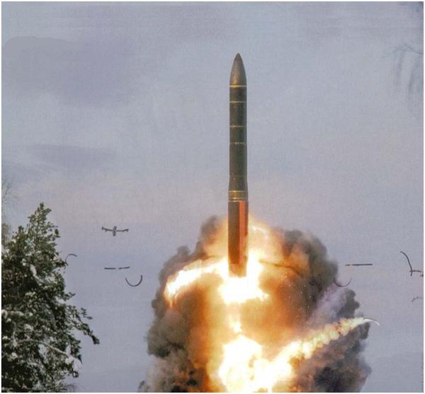 Tên lửa RT-2UTTKh Topol-M có tầm bắn lên tới 10.000km. Ảnh: Trí thức trẻ