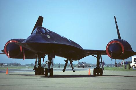 Máy bay trinh sát cơ SR-71 Blackbird . Ảnh: Đất Việt