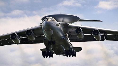 Máy bay AWACS A-100 còn có khả năng phát hiện mục tiêu ở khoảng cách 600km. Ảnh: Chính phủ