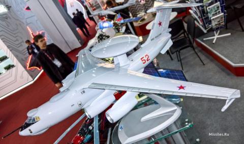 Máy bay AWACS A-100 là vũ khí có khả năng theo dõi 300 mục tiêu. Ảnh: Đất Việt