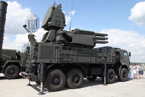 Hệ thống tên lửa Pantsir-S2 vô đối của Nga. Ảnh: Kiến thức