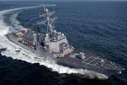 Chiến hạm USS Arleigh Burke là lớp tàu khu trục mang tên lửa dẫn đường (DDG). Ảnh: Thanh niên