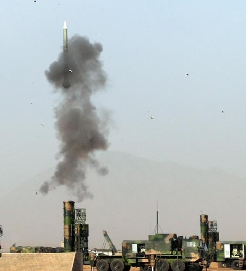 Hệ thống HQ-9 được Trung Quốc khai hỏa. Ảnh: VnExpress