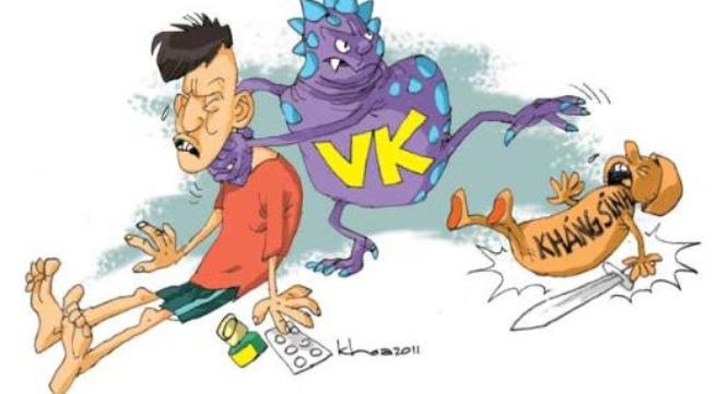 Hiện tại hầu hết các cơ sở khám, chữa bệnh tại Việt Nam đều xuất hiện vi khuẩn kháng thuốc. Ảnh minh họa