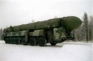 Tên lửa SS-27 Topol-M. Ảnh: VnMeia