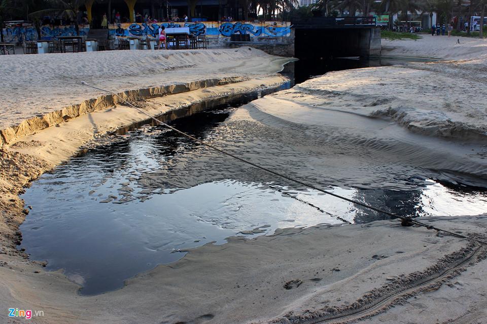 Biển Đà Nẵng ô nhiễm trầm trọng. Ảnh: ZIng News