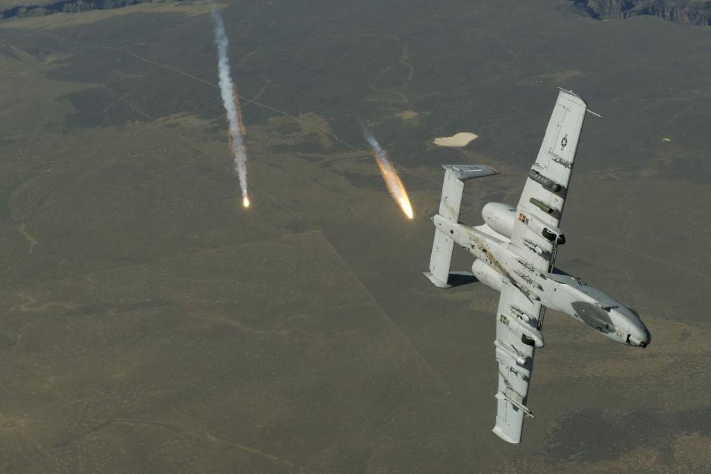 Máy bay A-10 Thunderbolt II của Mỹ. Ảnh: Zing News