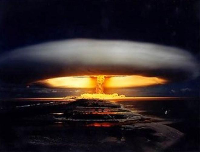 Bom nhiệt hạch có sức công phá kinh hoàng khiến cả thế giới lo lắng. Ảnh minh họa